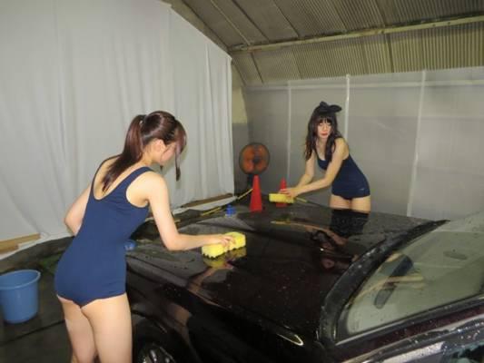 アキバスク水洗車ボンネット
