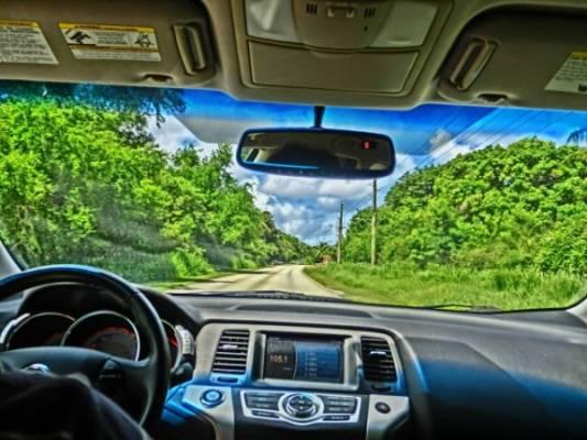 島のドライブ
