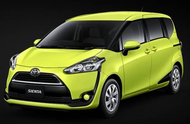 シエンタ大幅躍進8月の新車乗用車販売台数