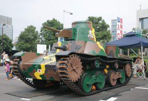 お台場旧車天国2015戦車