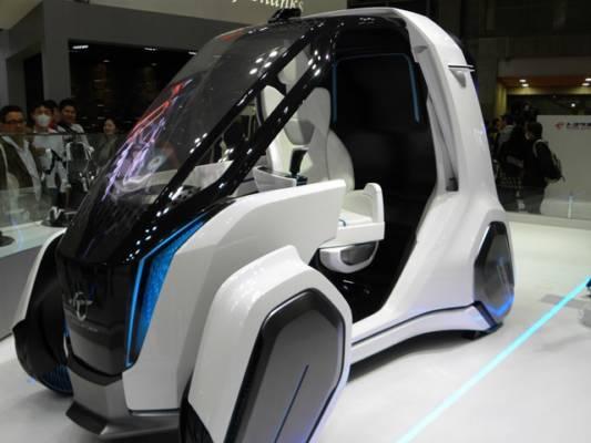 自動運転コンセプト東京モーターショー2015