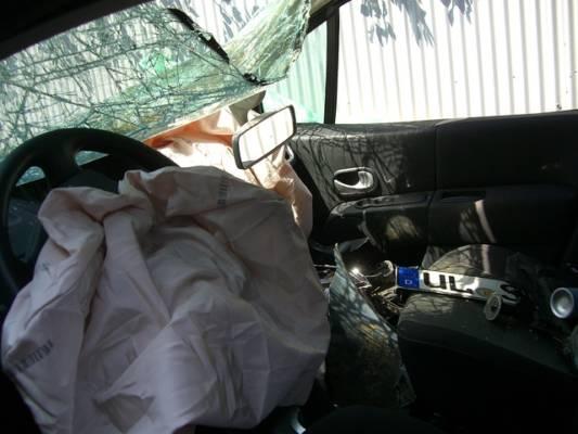 ハーフカット車台のエアバック未処理に注意喚起