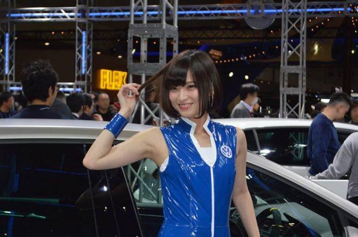 東京オートサロン2017コンパニオン