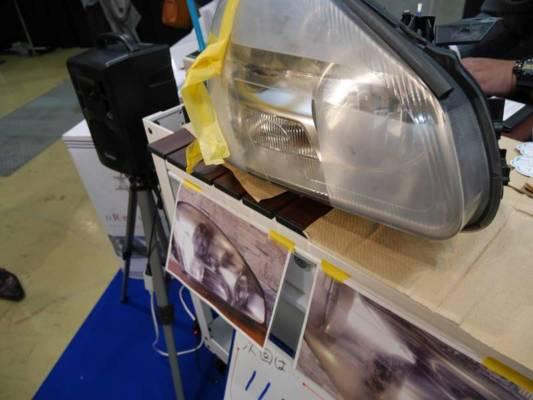 ヘッドライト再生最新技術 ドリームコート