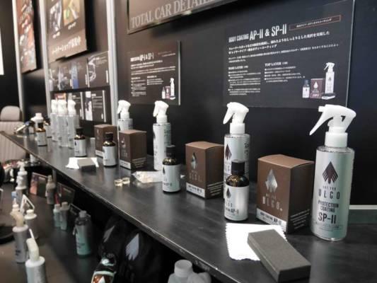 カーコーティングのプロフェッショナルと化学メーカーが共同開発したガラスコーティング ULGO