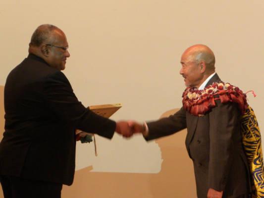 リピートの岡田誉伯社長が在大阪フィジー共和国 名誉領事に就任